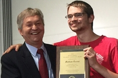 Matthew Turner wins CoE Outstanding Teaching Assistant Award