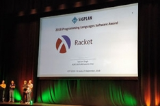 Racket wins 2018 SIGPLAN Programming Languages Software Award