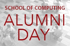 School of Computing Graduates Attend Inaugural Alumni Day