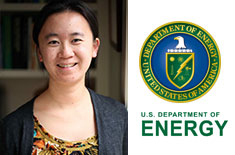 Bei Wang Receives DOE Award