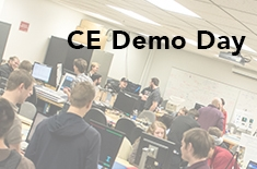 Computer Engineering Demo Day Shows Senior Projects