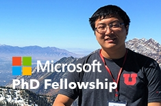 SoC Graduate Student Awarded Prestigious Microsoft Research PhD Fellow