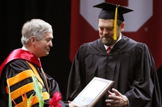 John LaLonde awarded the College of Engineering Outstanding Service Award