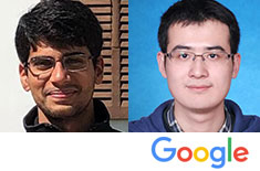 SOC Congratulates Two Recipients of the 2019 PhD Google Fellowship