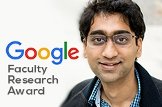 Aditya Bhaskara selected for Google Faculty Research Award