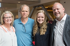 SoC faculty and students honored during graduation reception