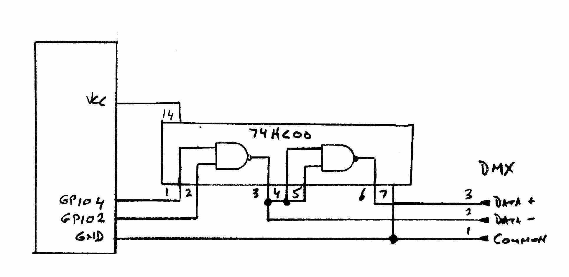 Microprocessors In The Theater Dmxprojectscom Dmx512 Lighting Projects Dmx Relay Schematic Heres A Drawing Of
